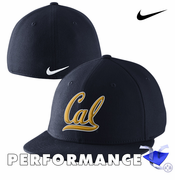 California Golden Bears Nike Dri-FIT True Fan Swoosh Flex Cap - Navy