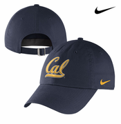 California Golden Bears Nike Dri-FIT Women's Cursive Logo Hat - Navy
