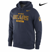 California Golden Bears Nike Football Practice Classic Hoody - Navy