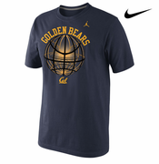California Golden Bears Nike Fusion Power Ball Tee - Navy