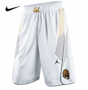 California Golden Bears Nike Jordan Men's Basketball Replica Home Short - White