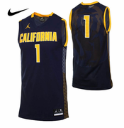 California Golden Bears Nike Jordan Men's Basketball Replica Road Jersey - Navy