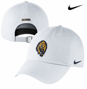 California Golden Bears Nike Mascot Heritage 86 Adjustable Cap - White
