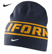 California Golden Bears Nike Player Sideline Knit Beanie - Navy