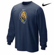 California Golden Bears Nike Secondary Logo Long Sleeve Tee - Navy