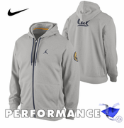 California Golden Bears Nike Therma-FIT Jordan Basketball Performance Hoody - Grey
