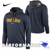 California Golden Bears Nike Therma-FIT KO Pullover Performance Hoody - Navy