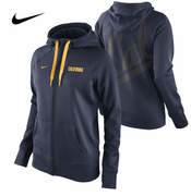 California Golden Bears Nike Therma-FIT Women's College Warp All Time Full Zip Hoody - Navy