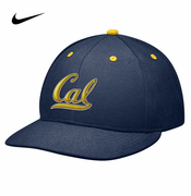 California Golden Bears Nike True College Authentic Fitted Hat - Navy