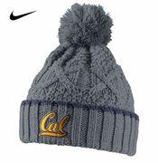 California Golden Bears Nike Women's Better Knit Beanie - Grey
