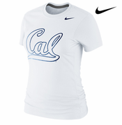 California Golden Bears Nike Women's Foundation Tee - White
