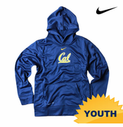 California Golden Bears Nike Youth Practice Classic Hoody - Navy
