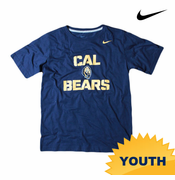 California Golden Bears Nike Youth Practice Tee - Navy