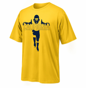 California Golden Bears Ouray 2014 Football Spring Game Silhouette Tee - Gold