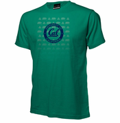 California Golden Bears Ouray 3-Leaf Clover Iconable St. Patty's Tee - Green
