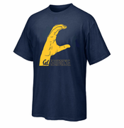 California Golden Bears Ouray 'C' Bench Basketball Tee - Navy