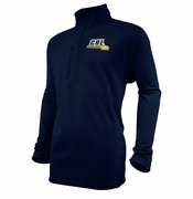 California Golden Bears Ouray Cal Grid 1/4 Zip Pullover - Navy