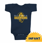 California Golden Bears Ouray Infant Golden Bears Onesie Creeper - Navy