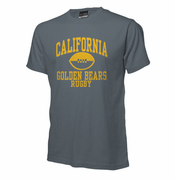 California Golden Bears Ouray Rugby Short Sleeve Tee - Grey