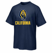 California Golden Bears Ouray Secondary Bear Logo Tee - Navy