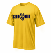 <b><i>All Sales Final</i></b> - California Golden Bears Ouray Secondary Logo Gold Out Tee - Gold