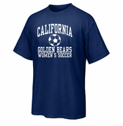 California Golden Bears Ouray Soccer Women's Team Tee - Navy