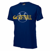 California Golden Bears Ouray Softball Logo Tee - Navy