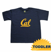 California Golden Bears Ouray Toddler Cal Cursive Logo Tee - Navy