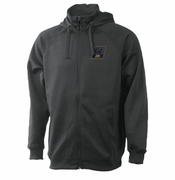 California Golden Bears Ouray Transit Full Zip Hood & Collar Hoody - Grey