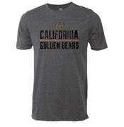 California Golden Bears Ouray Vintage Triblend Tee - Grey