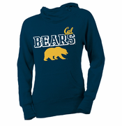 California Golden Bears Ouray Women's Asym Cal Hoody - Navy