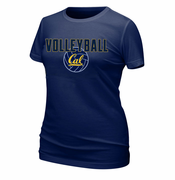 California Golden Bears Ouray Women's Volleyball Tee - Navy