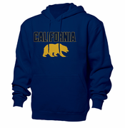 California Golden Bears Ouray Wordmark Hoody - Navy