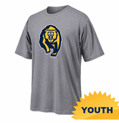 California Golden Bears Ouray Youth Bear Logo Tee - Grey