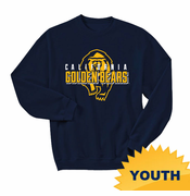 California Golden Bears Ouray Youth Golden Bears Crew Sweatshirt - Navy