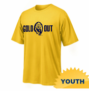 California Golden Bears Ouray Youth Secondary Logo Gold Out Tee - Gold