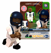 California Golden Bears Oyo Sports&#8482 Marshawn Lynch #10 Campus Legends Minifigure