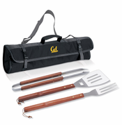 California Golden Bears Picnic Time&reg 3-pc BBQ Tote Set