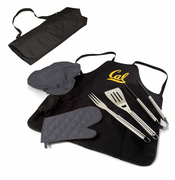 California Golden Bears Picnic Time&reg BBQ Apron Tote PRO Set