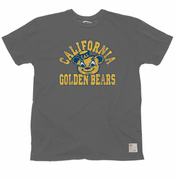 California Golden Bears Retro Brand Oski Arch Tee - Charcoal