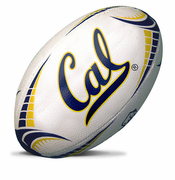California Golden Bears Rhino Rugby Full Size Ball - White