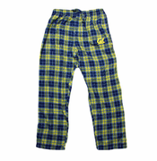 California Golden Bears Roster Plaid Pants - Navy/Gold