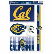 California Golden Bears WinCraft 11x17 Ultra Decal Sheet