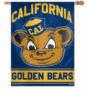 California Golden Bears WinCraft 27x37 Vault Mascot Banner - Navy