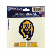 California Golden Bears WinCraft 3x4 Secondary Ultra Decal