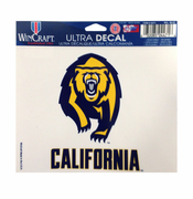 California Golden Bears WinCraft 5x6 Secondary Ultra Decal