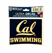 California Golden Bears WinCraft 5x6 Swimming Ultra Decal - Navy