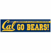California Golden Bears WinCraft Bumper Strip - Navy