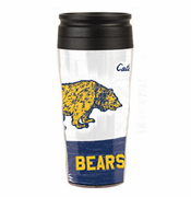 California Golden Bears WinCraft College Vault 16 oz. Travel Mug - White/Navy