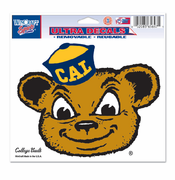 California Golden Bears WinCraft College Vault 5x6 Oski Ultra Decal